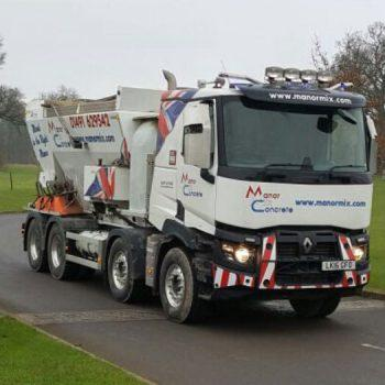 Manor Mix Concrete volumetric truck