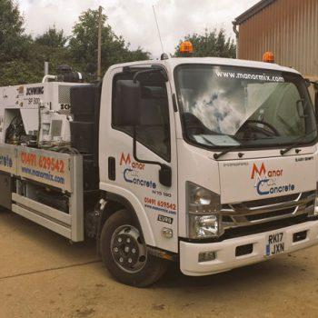 Manor Mix Concrete truck