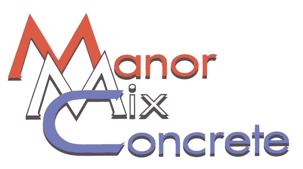 Manor Mix Concrete Logo